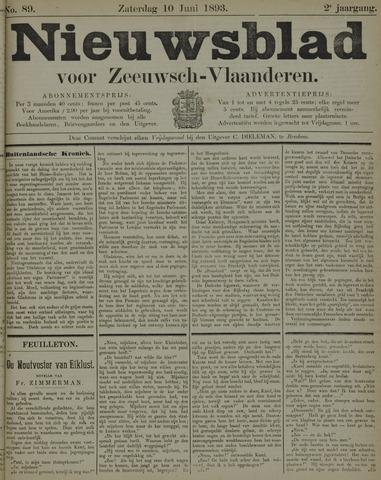 Nieuwsblad voor Zeeuwsch-Vlaanderen 1893-06-10