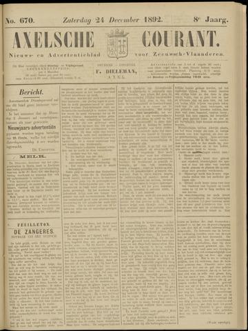 Axelsche Courant 1892-12-24