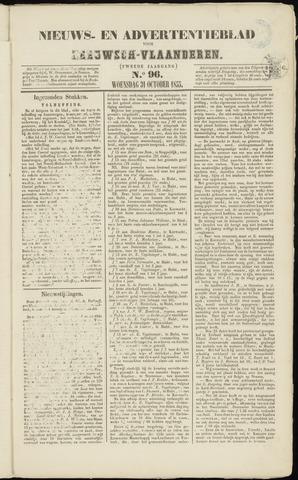 Ter Neuzensche Courant. Algemeen Nieuws- en Advertentieblad voor Zeeuwsch-Vlaanderen / Neuzensche Courant ... (idem) / (Algemeen) nieuws en advertentieblad voor Zeeuwsch-Vlaanderen 1855-10-31