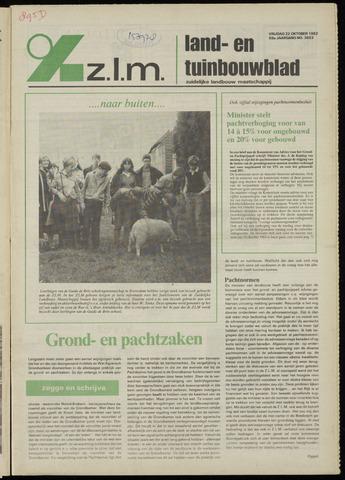 Zeeuwsch landbouwblad ... ZLM land- en tuinbouwblad 1982-10-22