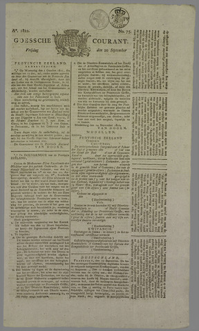 Goessche Courant 1822-09-20