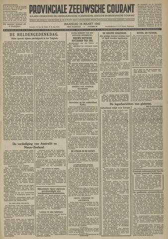Provinciale Zeeuwse Courant 1942-03-16