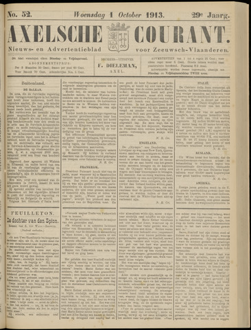 Axelsche Courant 1913-10-01
