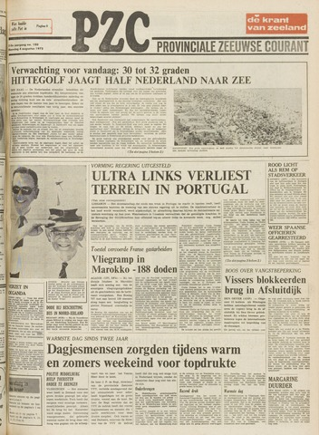 Provinciale Zeeuwse Courant 1975-08-04