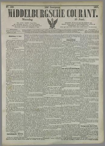 Middelburgsche Courant 1891-06-15