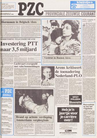 Provinciale Zeeuwse Courant 1989-01-04