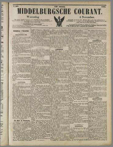 Middelburgsche Courant 1903-11-04