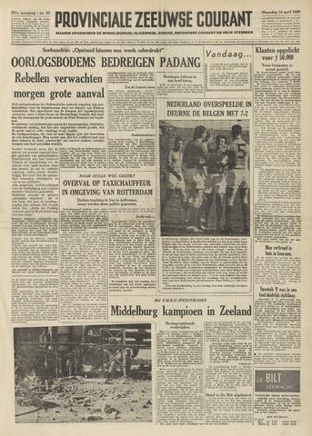 Provinciale Zeeuwse Courant 1958-04-14