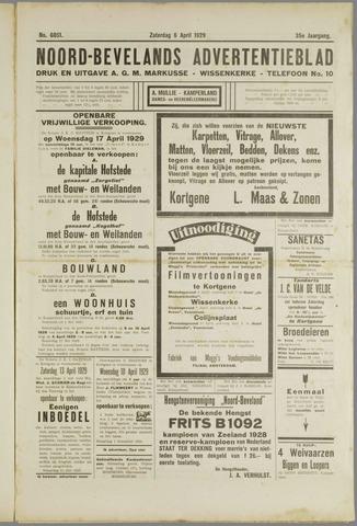 Noord-Bevelands Nieuws- en advertentieblad 1929-04-06