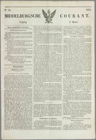 Middelburgsche Courant 1871-03-03