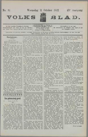 Volksblad 1922-10-11