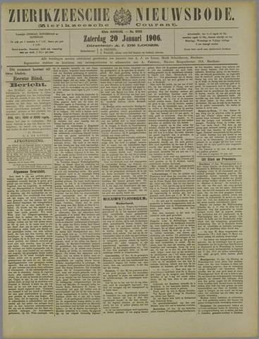 Zierikzeesche Nieuwsbode 1906-01-20