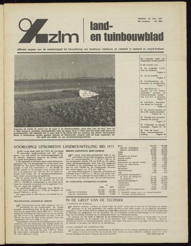 Zeeuwsch landbouwblad ... ZLM land- en tuinbouwblad 1971-07-30