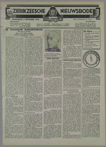 Zierikzeesche Nieuwsbode 1936-09-03