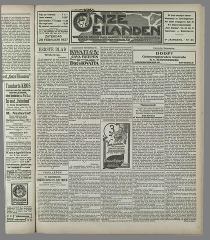 Onze Eilanden 1927-02-26