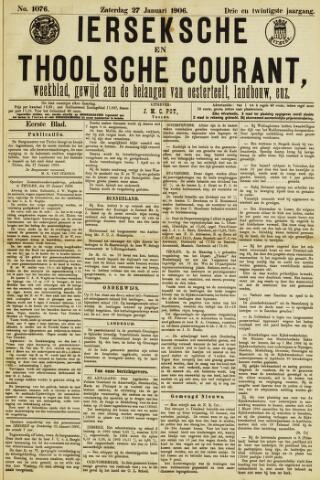 Ierseksche en Thoolsche Courant 1906-01-27