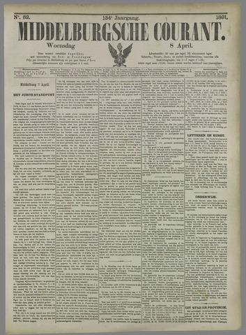 Middelburgsche Courant 1891-04-08