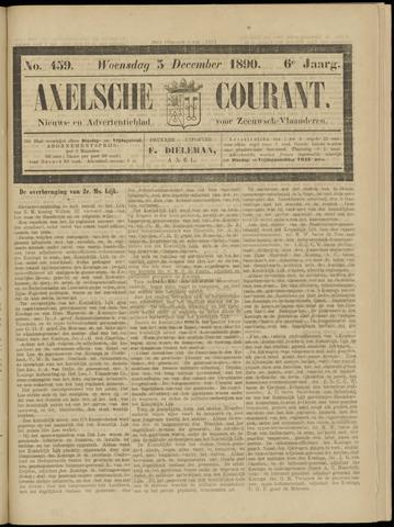 Axelsche Courant 1890-12-03