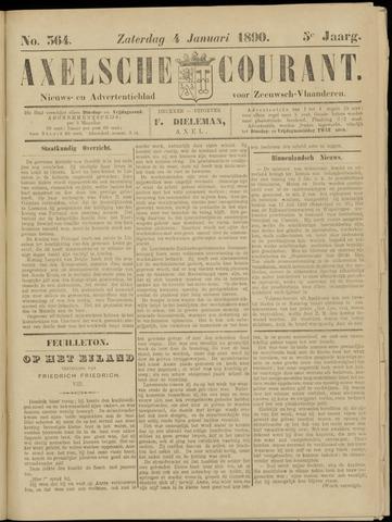 Axelsche Courant 1890-01-04