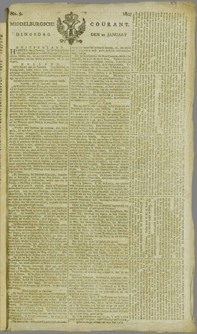 Middelburgsche Courant 1807-01-20