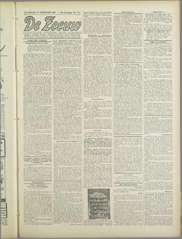De Zeeuw. Christelijk-historisch nieuwsblad voor Zeeland 1944-02-12