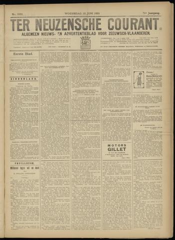 Ter Neuzensche Courant. Algemeen Nieuws- en Advertentieblad voor Zeeuwsch-Vlaanderen / Neuzensche Courant ... (idem) / (Algemeen) nieuws en advertentieblad voor Zeeuwsch-Vlaanderen 1931-06-10