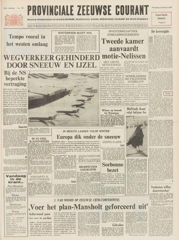 Provinciale Zeeuwse Courant 1969-02-12
