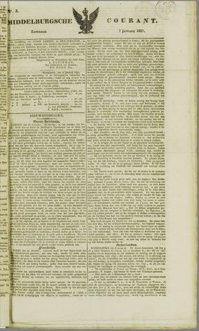 Middelburgsche Courant 1837-01-07