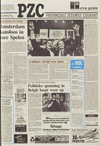 Provinciale Zeeuwse Courant 1986-10-18