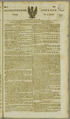 Middelburgsche Courant 1817-01-14