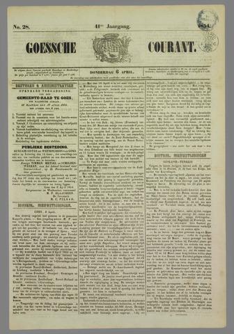 Goessche Courant 1854-04-06