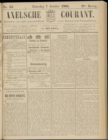 Axelsche Courant 1905-10-07