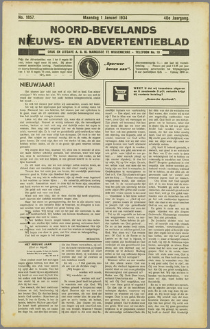 Noord-Bevelands Nieuws- en advertentieblad 1934