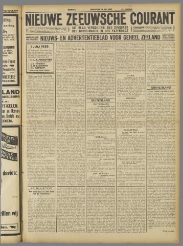 Nieuwe Zeeuwsche Courant 1925-05-28