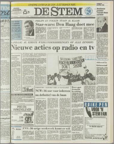 de Stem 1985-04-23