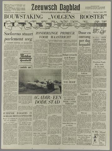 Zeeuwsch Dagblad 1960-03-07