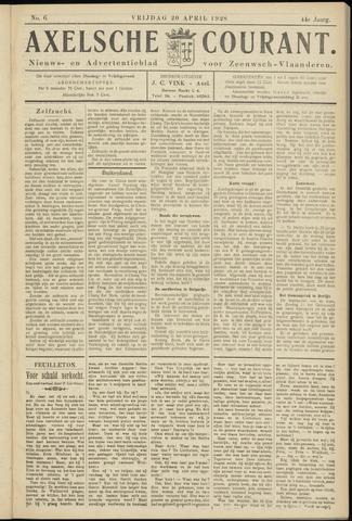 Axelsche Courant 1928-04-20