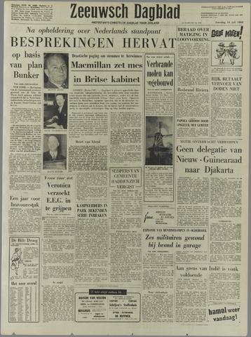 Zeeuwsch Dagblad 1962-07-14