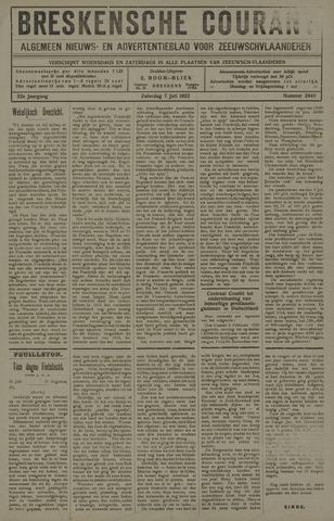 Breskensche Courant 1923-07-07