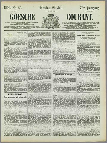 Goessche Courant 1890-07-22