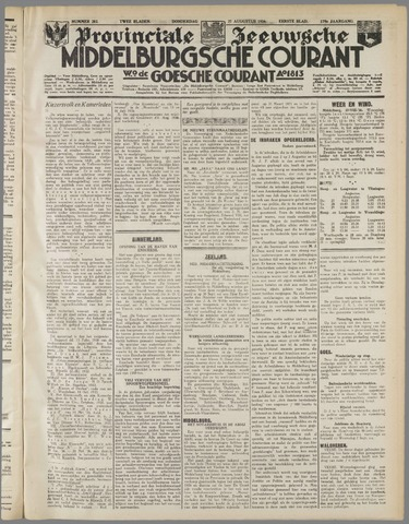 Middelburgsche Courant 1936-08-27