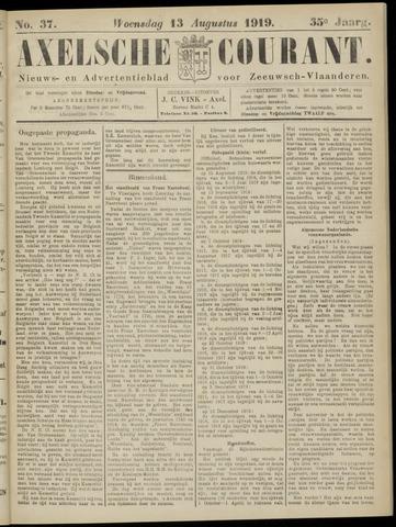 Axelsche Courant 1919-08-13