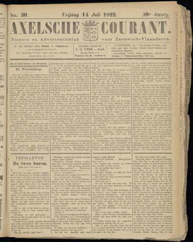 Axelsche Courant 1922-07-14