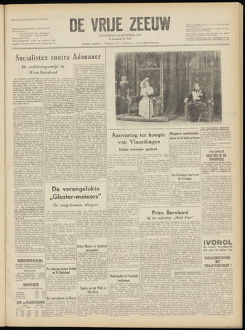 de Vrije Zeeuw 1952-09-18