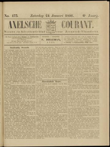 Axelsche Courant 1891-01-24