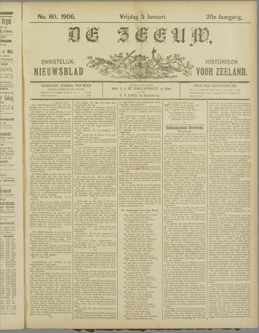 De Zeeuw. Christelijk-historisch nieuwsblad voor Zeeland 1906-01-05