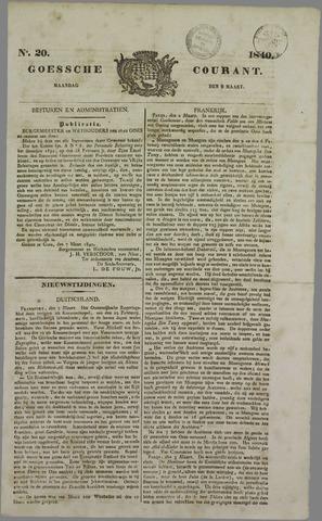 Goessche Courant 1840-03-09
