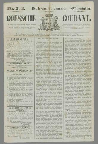 Goessche Courant 1872-01-25