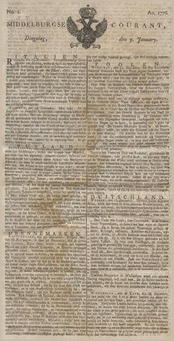 Middelburgsche Courant 1776-01-09