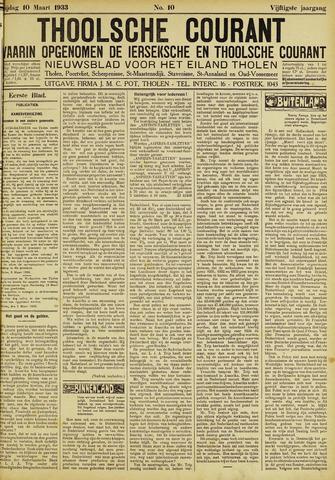 Ierseksche en Thoolsche Courant 1933-03-10